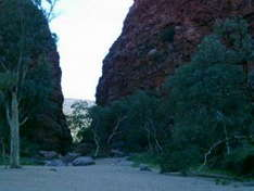 Simpson Gap und Standley Chasm