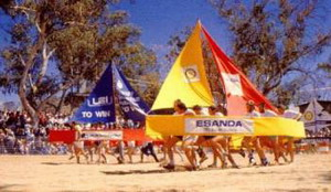 Henley Todd Regatta in Alice Springs