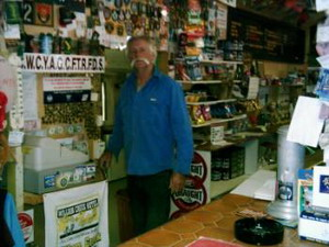 Owner des Willam Creek Roadhouse