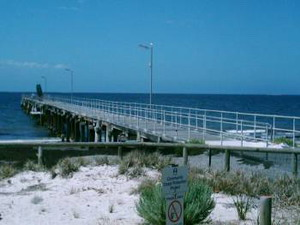 Arno Bay Jetty - Cowell