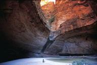 Im Purnululu Nationalpark befinden ich auch Grabstätten der Aboriginas